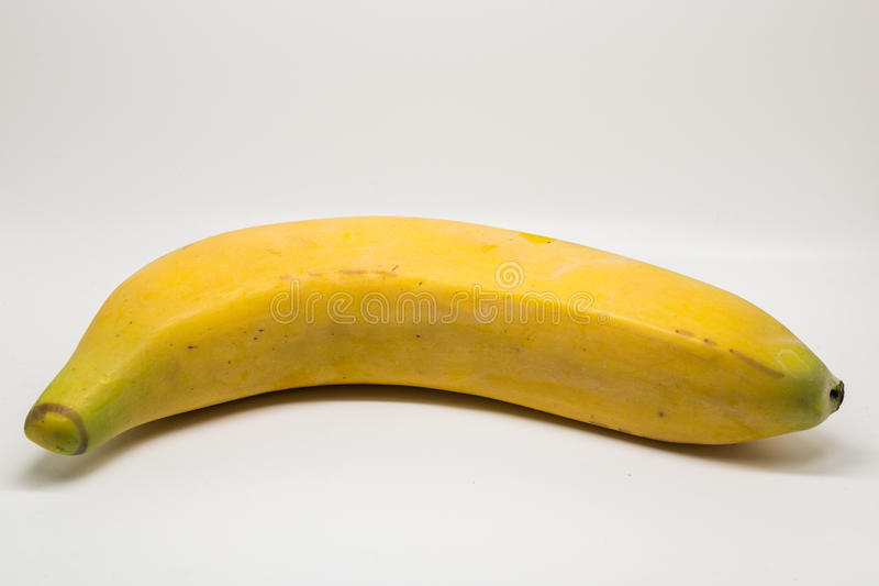 One banana stock photo
