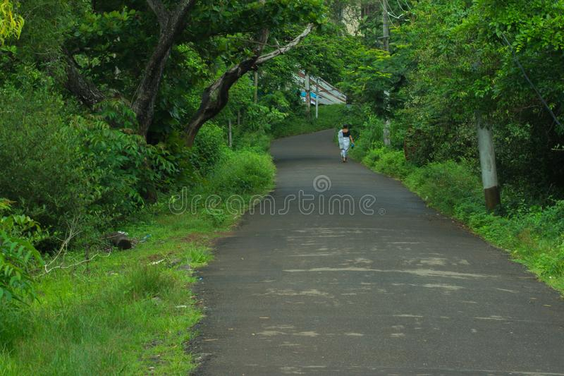 Beautiful destinations of kerala stock image