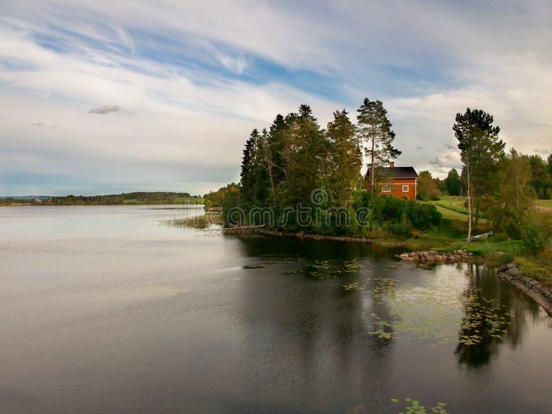 Swedish landscape royalty free stock photos