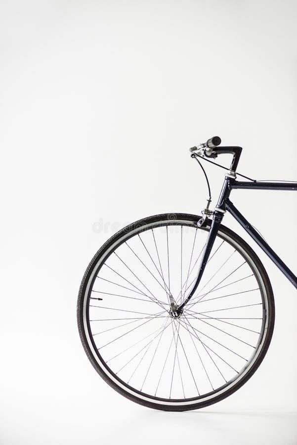 One bicycle wheel stock photo