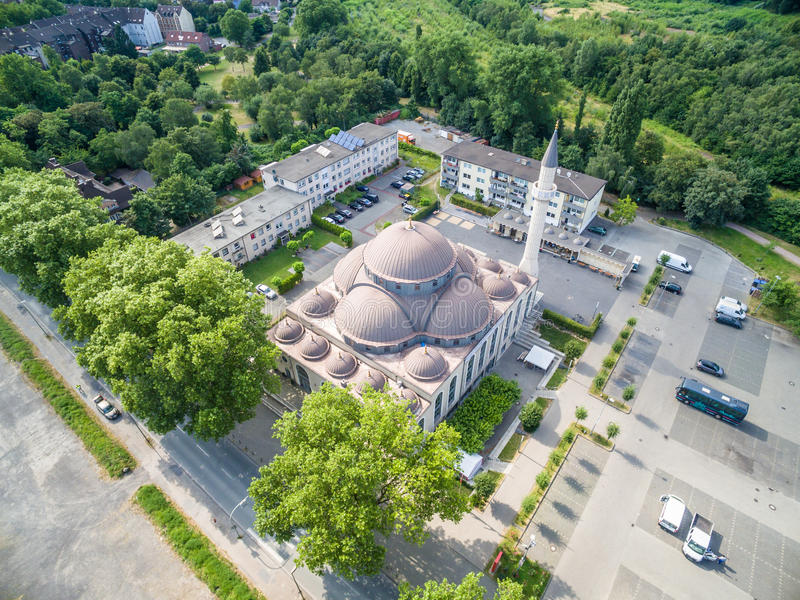 Download One Of The Biggest Mosques In Germany Under The Sun Editorial Photo - Image: 83703126
