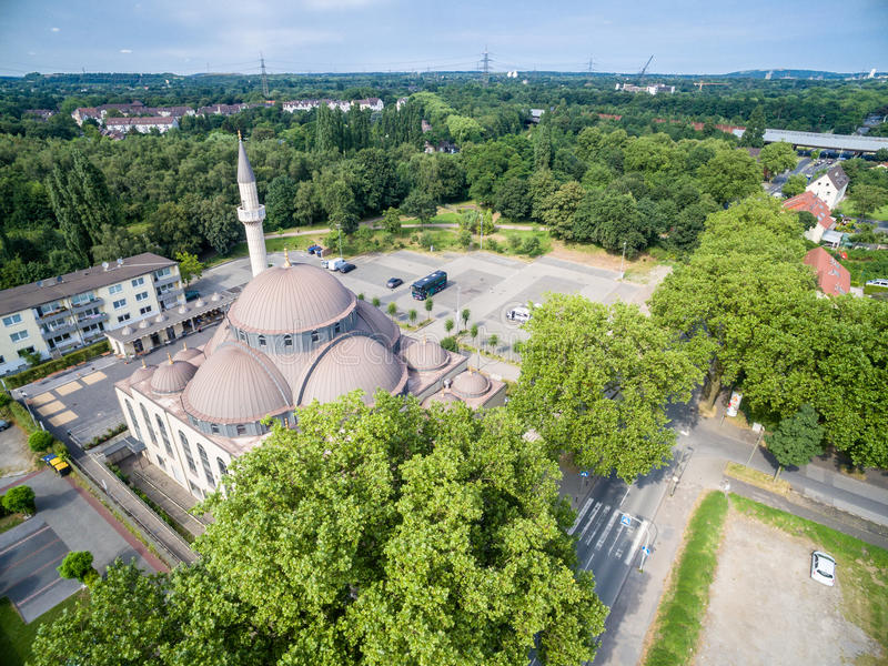Download One Of The Biggest Mosques In Germany Under The Sun Editorial Image - Image: 83703290