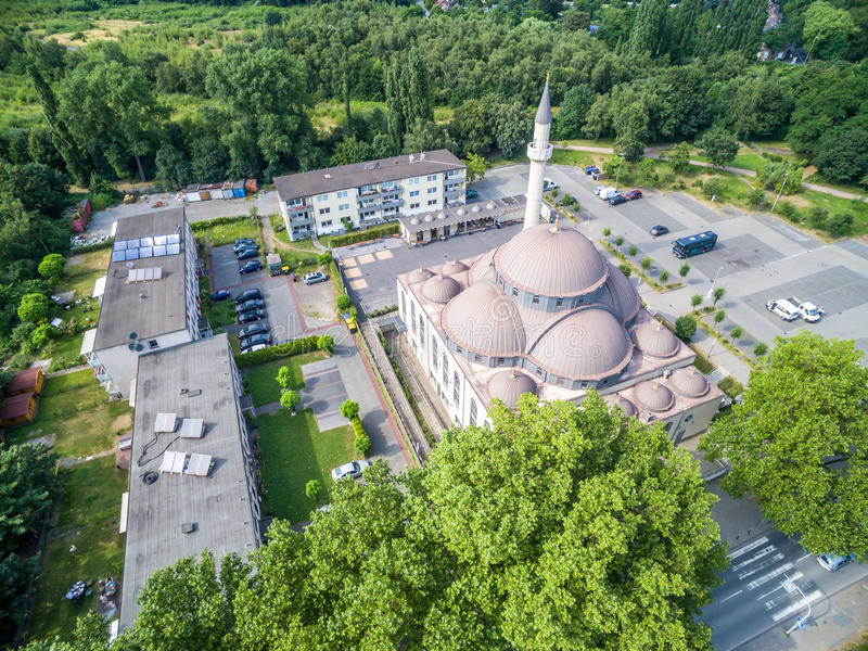 Download One Of The Biggest Mosques In Germany Under The Sun Editorial Stock Image - Image: 83703329