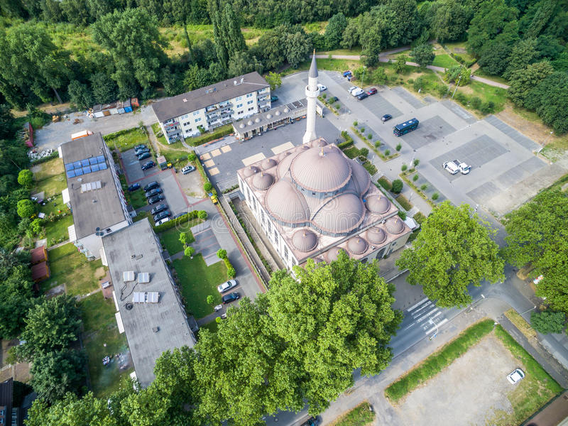 Download One Of The Biggest Mosques In Germany Under The Sun Editorial Stock Image - Image: 83703349