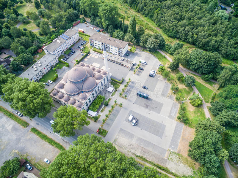 Download One Of The Biggest Mosques In Germany Under The Sun Editorial Photography - Image: 83703397