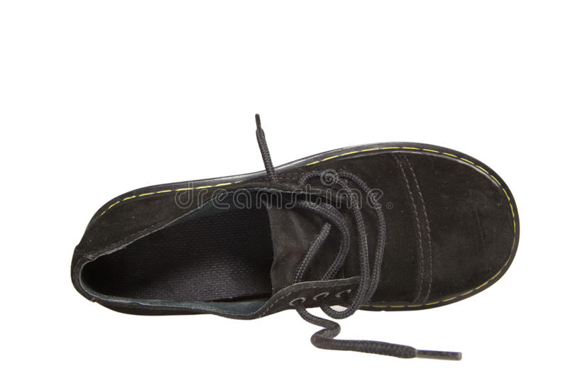 Download One Black Shoe With Clipping Path Royalty Free Stock Image - Image: 22311086