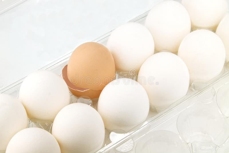 Download One broken egg stock photo. Image of fragile, farm, crack - 28884024