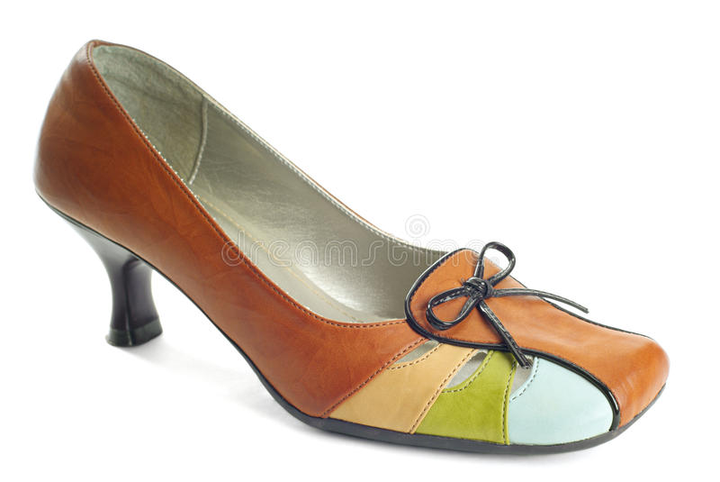 Download One Brown Shoe Royalty Free Stock Photography - Image: 18812067