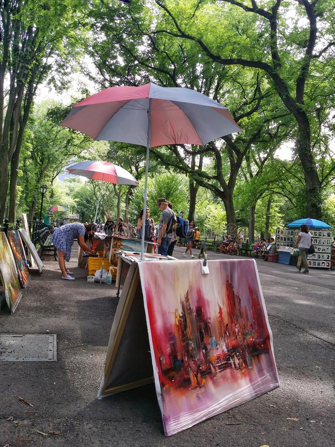 One of Central Park's small boutiques royalty free stock photo