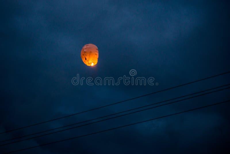 One Chinese Lantern stock photos