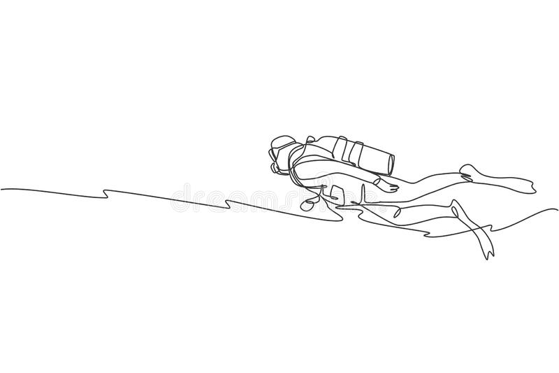 Scuba Gear Drawing Stock Illustrations – 248 Scuba Gear Drawing Stock  Illustrations, Vectors & Clipart - Dreamstime