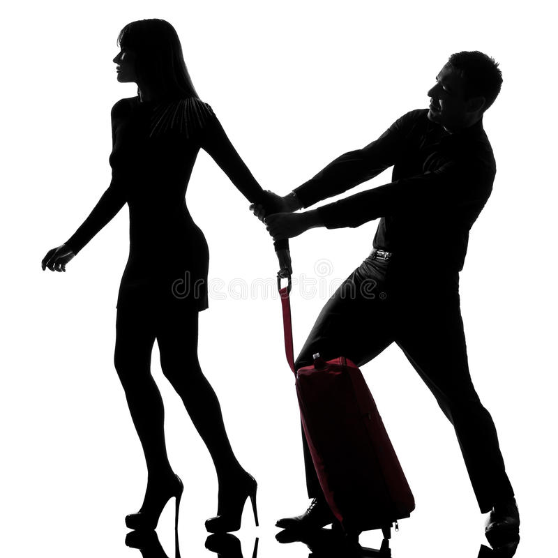 Download One Couple Dispute Separation Stock Photo - Image: 21676990