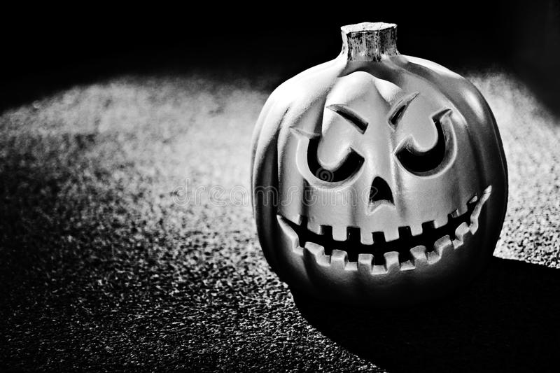 Download One creep scary pumpkin stock photo. Image of autumn - 24801126