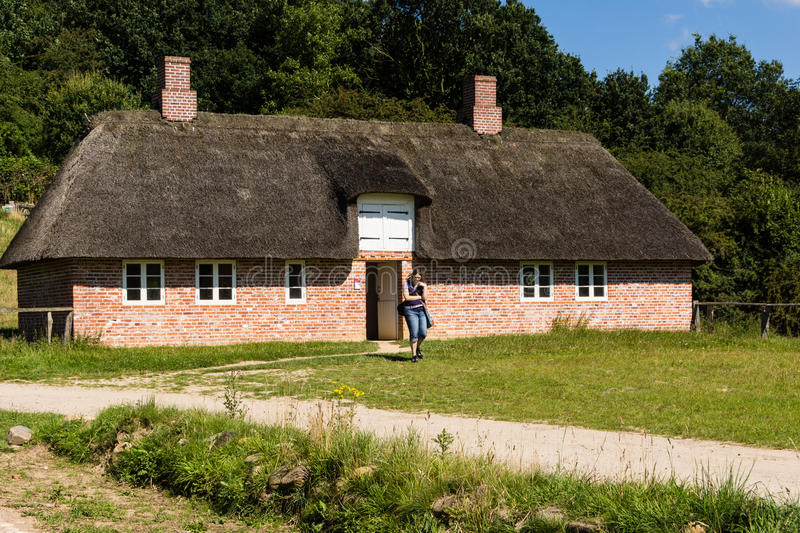 One day in open air museum royalty free stock photo