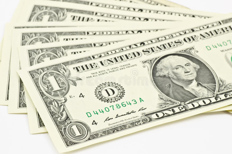 Download One dollar stock image. Image of currency, business, close - 23875267