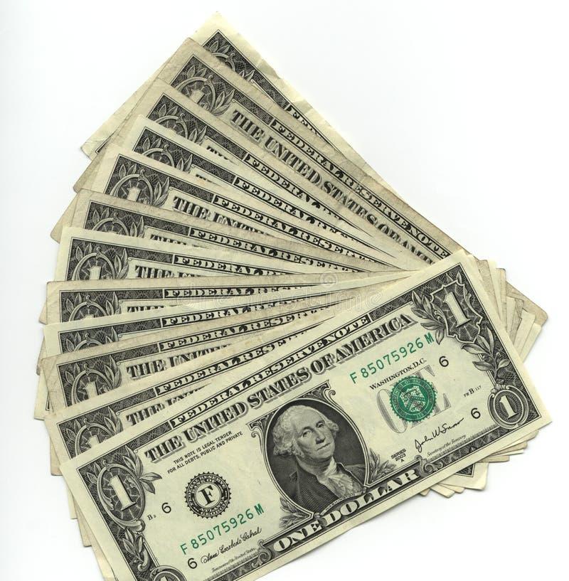 Download One dollar bills stock image. Image of business, denomination - 2567115