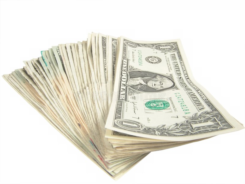 Download One Dollar Bills Stock Images - Image: 555544