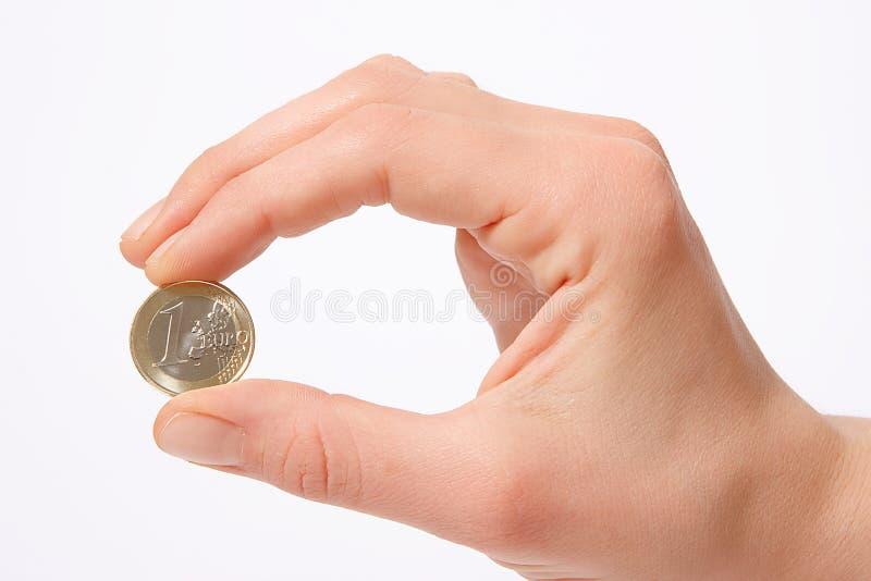 One euro royalty free stock image