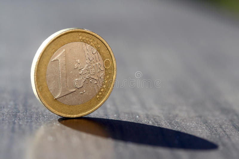 One euro stock photography