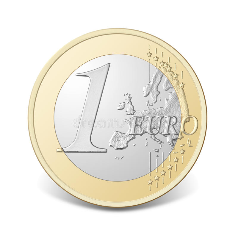 Free One Euro Coin. Stock Photography - 18194682