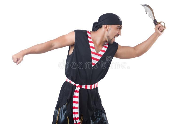 Download One eyed pirate stock photo. Image of costume, male, bandana - 33679772