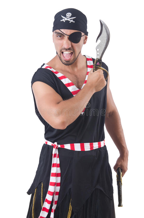 Download One eyed pirate stock image. Image of male, criminal - 34665455