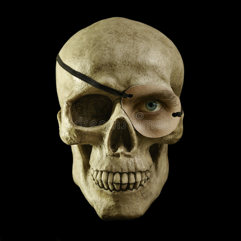 Download One Eyed Skull Stock Photos - Image: 8272823