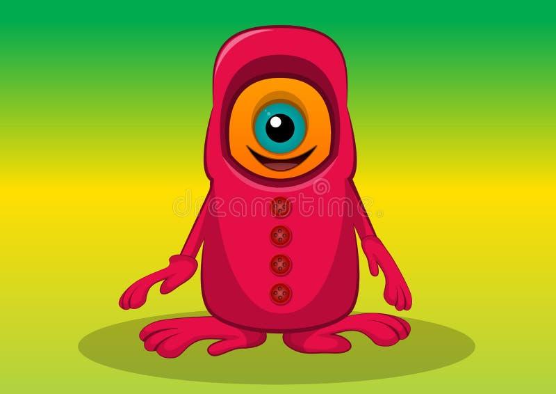 One-eyed varelse, illustration