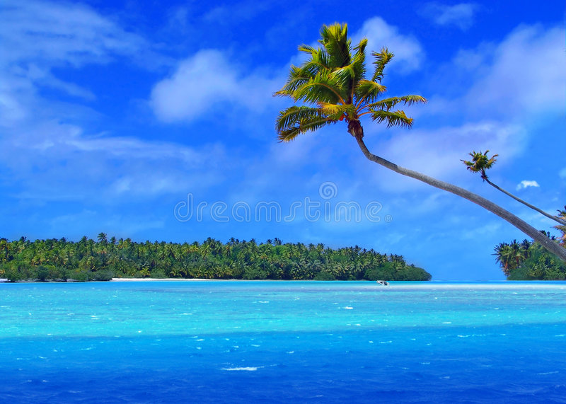 One Foot Island stock images