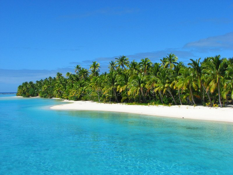 Download One Foot Island, Cook Islands Royalty Free Stock Photo - Image: 5524425