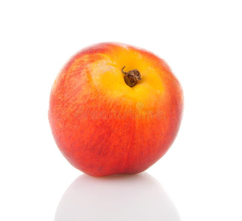 Download One Fresh Nectarine In Closeup Stock Photo - Image: 26321622