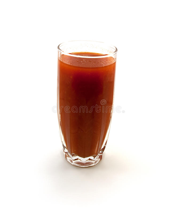 Download One glass of tomato juice stock photo. Image of cool - 11361774