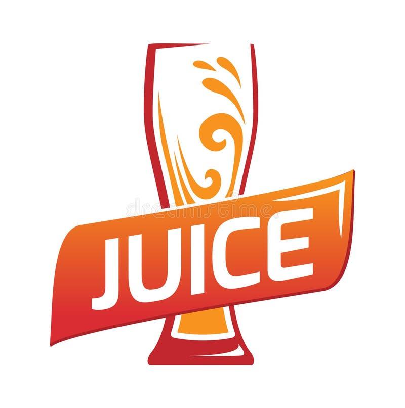 one glasses with orange juice stock image image of icon bright rh dreamstime com orange juice logo quiz orange juice company logos