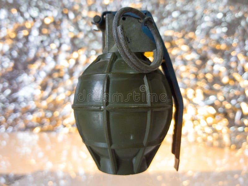 Grenade royalty free stock photo