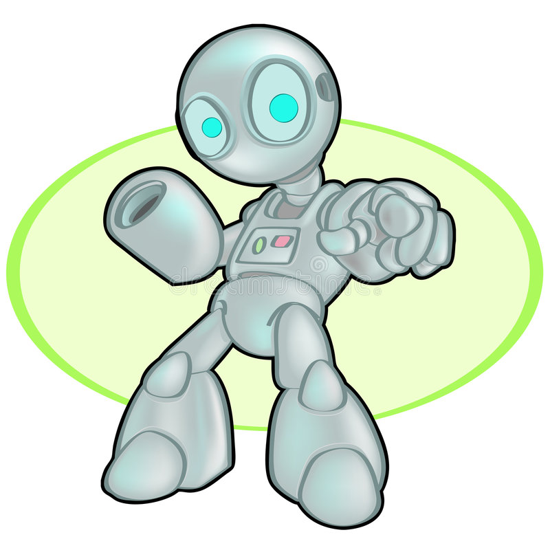 Download One Groovy Bot Royalty Free Stock Photos - Image: 2252198