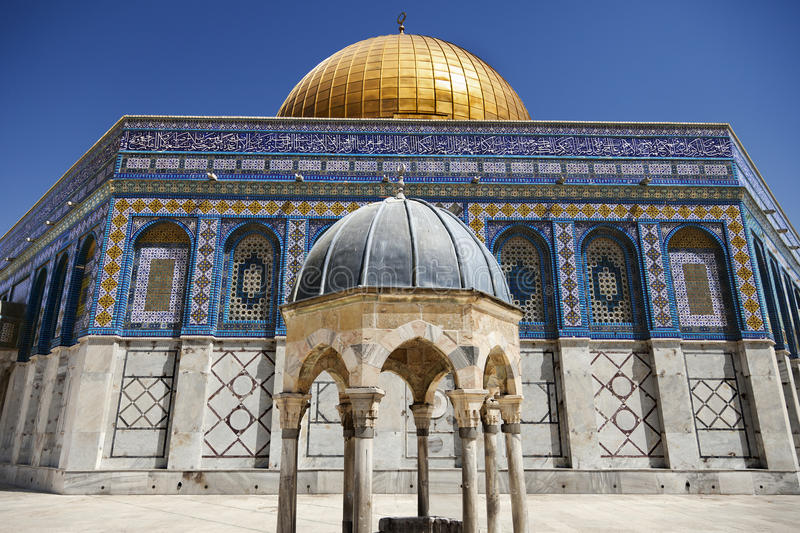 Download Dome of the Rock stock image. Image of land, international - 29956375