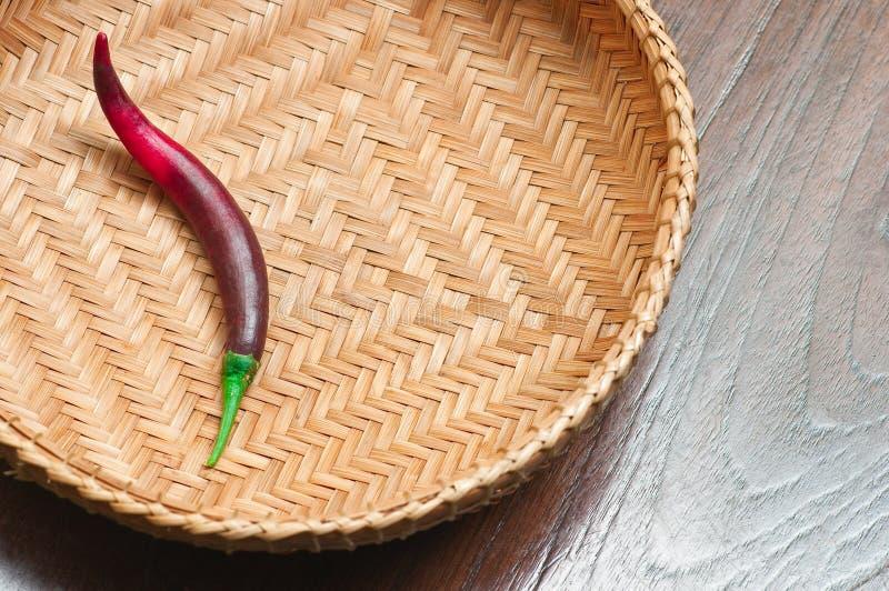 One hot pepper