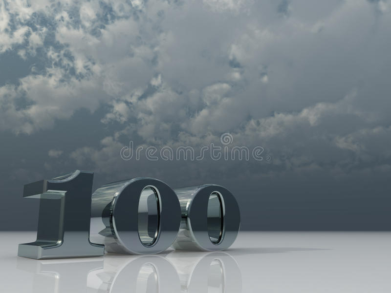 One Hundred Stock Photography