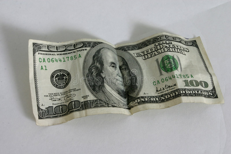 Download One Hundred Dollar Bill Royalty Free Stock Photo - Image: 34315