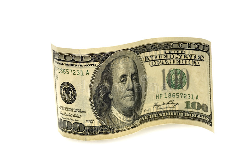 Download One Hundred Dollar Bill Royalty Free Stock Photography - Image: 5176787