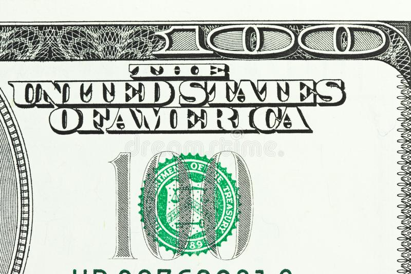 Download One Hundred Dollar Bill Close-up Shot Stock Image - Image: 8631571