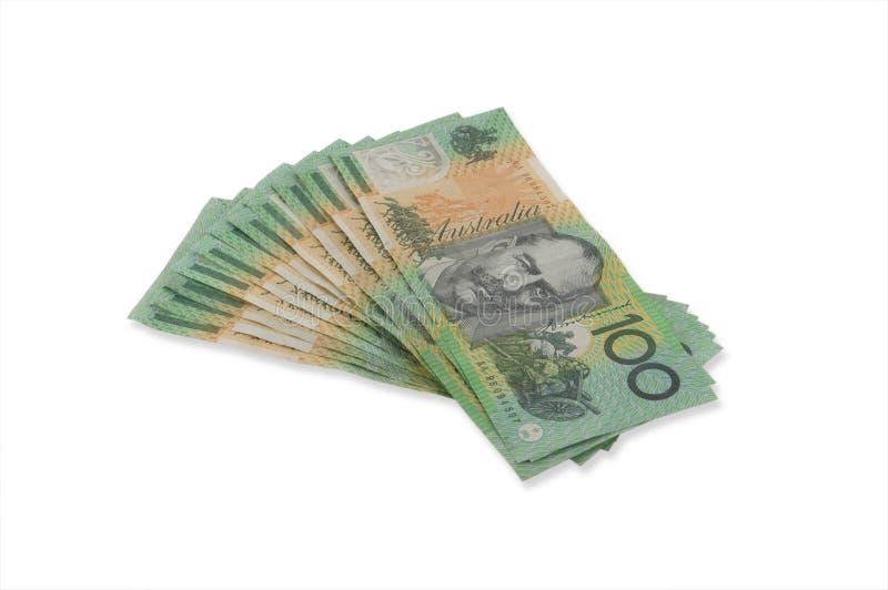 One Hundred Dollar Bills Royalty Free Stock Photography
