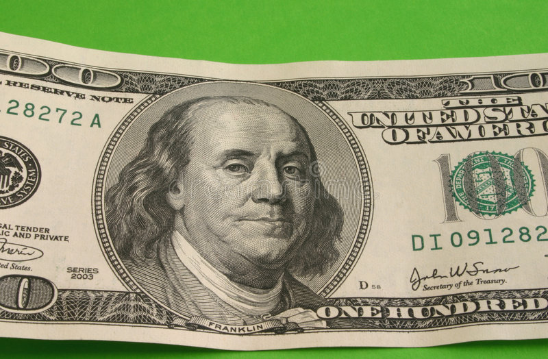 Download One Hundred Dollar Note Royalty Free Stock Photography - Image: 504587