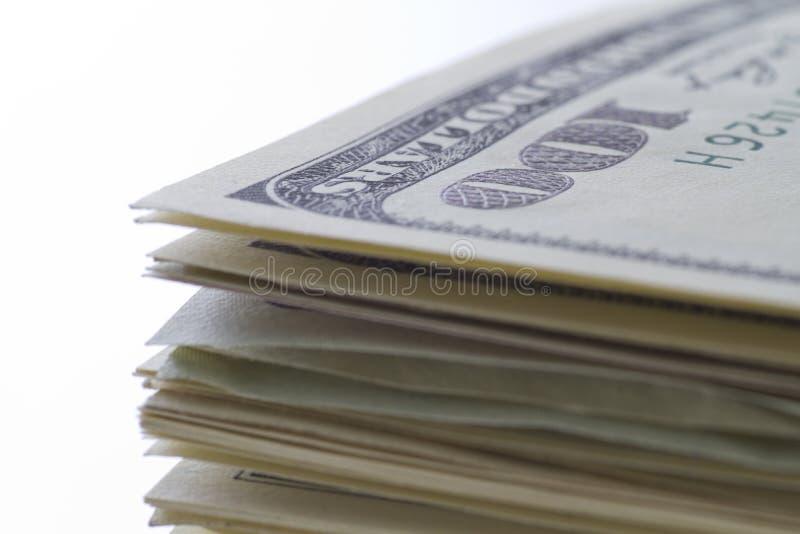 One Hundred Dollar Notes Royalty Free Stock Photos