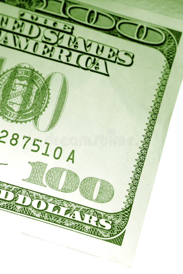One Hundred Dollars Stock Photo