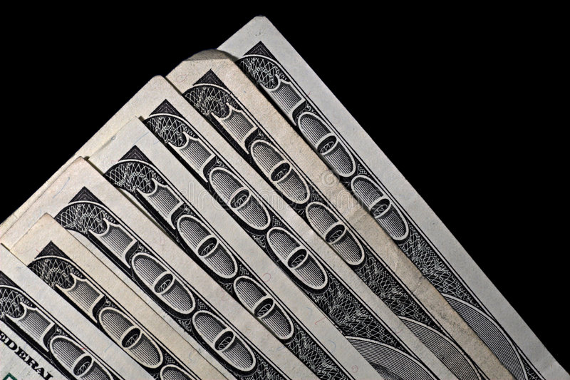 One Hundred Dollars Royalty Free Stock Photo