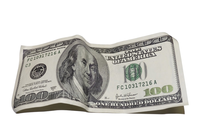 Download One Hundred Dollars Royalty Free Stock Images - Image: 4036039