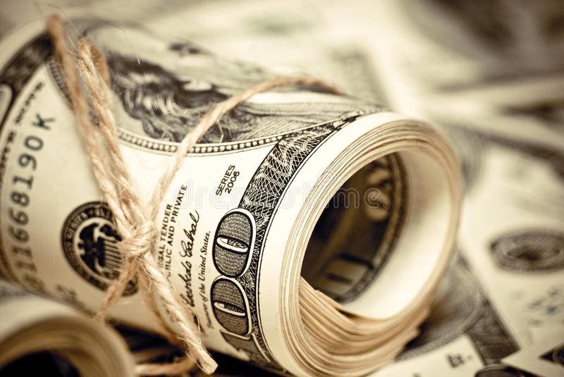 Download One Hundred Dollars US Royalty Free Stock Photography - Image: 26378417