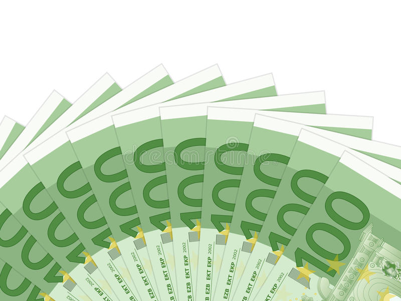 Download One hundred euro banknotes stock vector. Illustration of hundred - 30403372