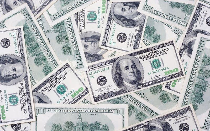 One hundred US dolars royalty free stock photos